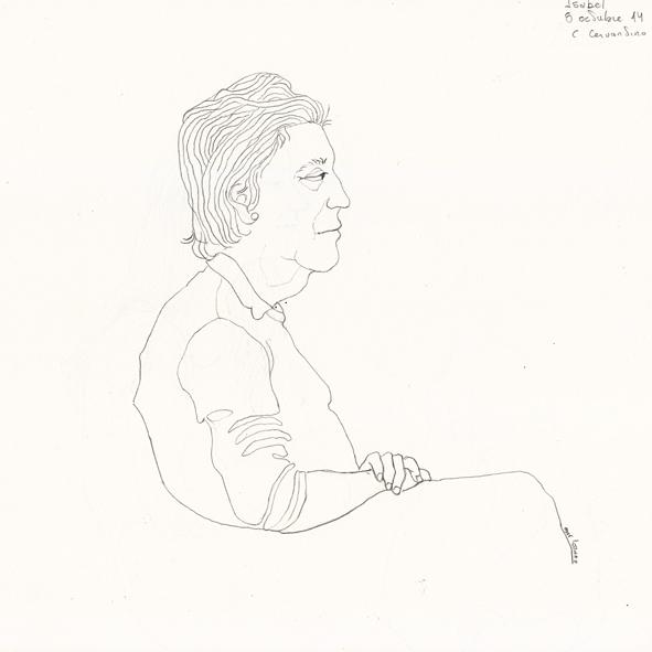 Retrato (Isabel) w 5-10-14