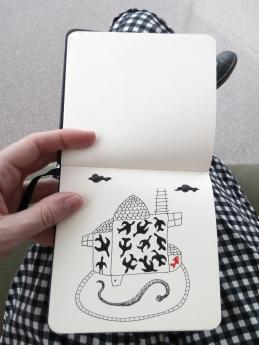3 cuaderno pequeño mar lozano