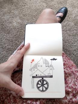 4 cuaderno pequeño mar lozano
