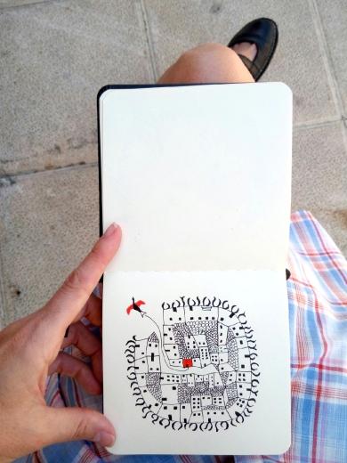 cuaderno pequeño mar lozano 12