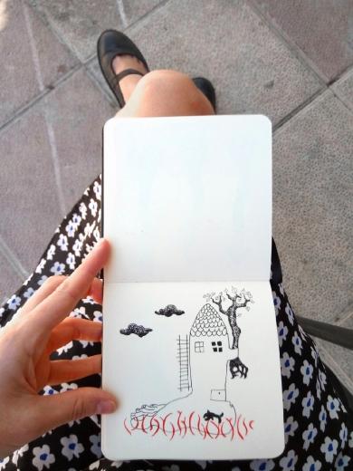 cuaderno pequeño mar lozano 17