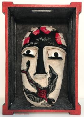 mascara ciudad y pajaro.w